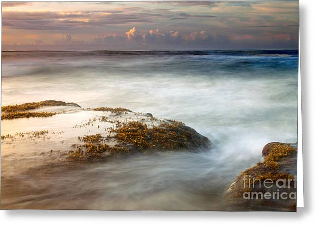 Storm Clouds Greeting Cards - Koloa Storm Dawning Greeting Card by Mike  Dawson