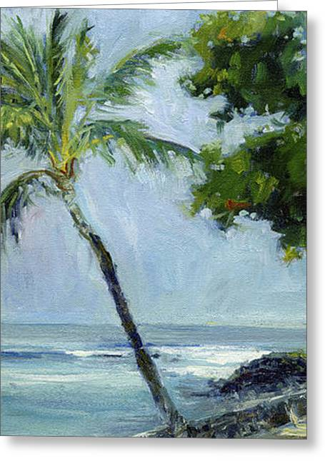 Lahaina Greeting Cards - Kona Palm Greeting Card by Stacy Vosberg