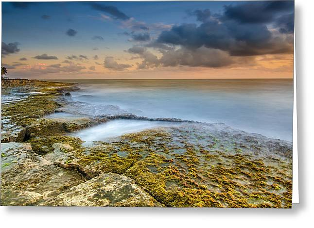 Top Seller Greeting Cards - Koolina Sunset Greeting Card by Tin Lung Chao