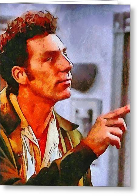 1990s Greeting Cards - Kramer Greeting Card by Dan Sproul