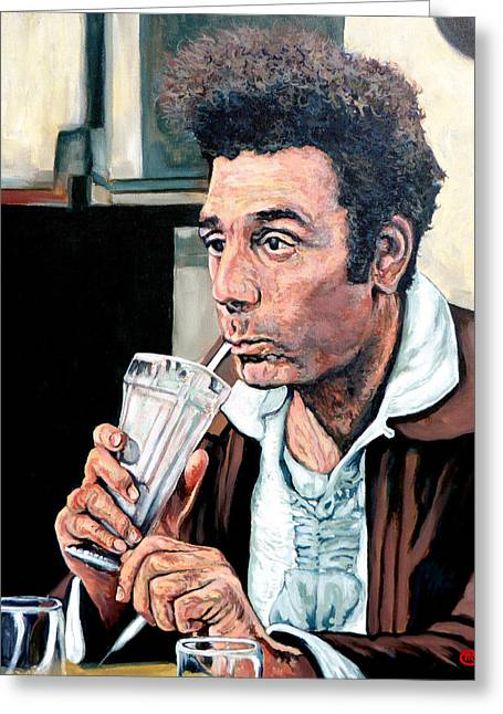 Kramer Greeting Card by Tom Roderick
