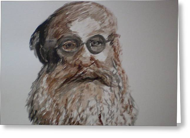 Kropotkin Greeting Card by Rob Spencer