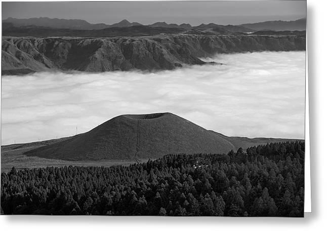 Mound Greeting Cards - Kumamoto Vista Greeting Card by Mountain Dreams