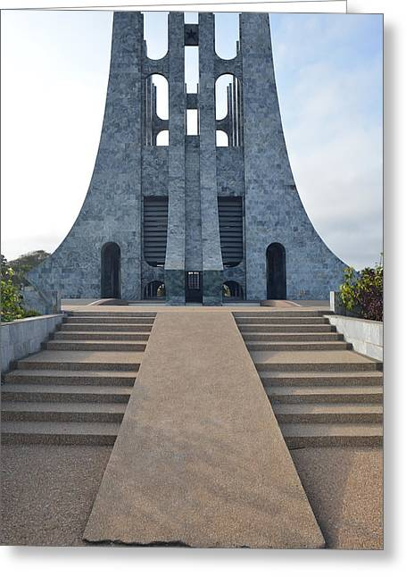 Kwame Greeting Cards - Kwame Nkrumah Memorial Park Greeting Card by Ronda Broatch