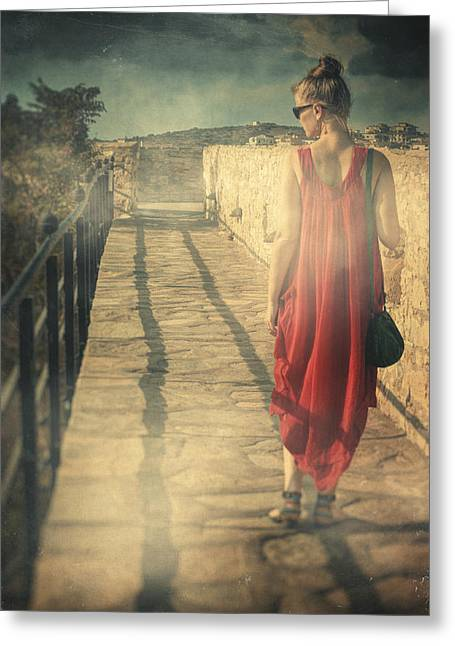 Dressed In Contemporary Clothing Greeting Cards - Kysos Greeting Card by Taylan Soyturk