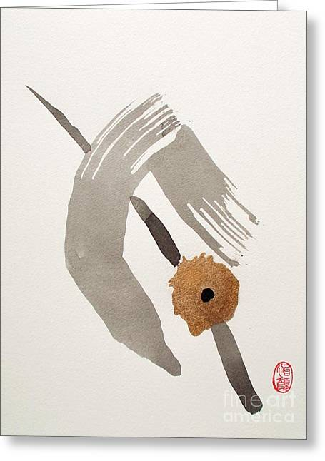 Deliverance Greeting Cards - Kyushutsu Greeting Card by Roberto Prusso