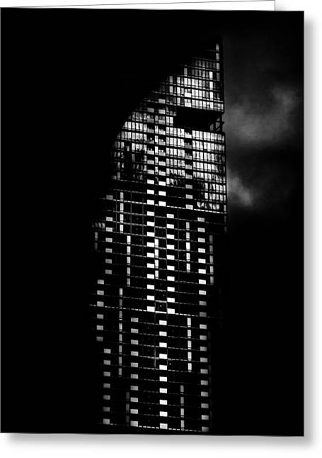 L Tower Toronto Canada Greeting Card by Brian Carson