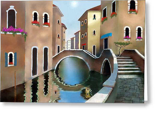 Larry Cirigliano Greeting Cards - La Bella Vita Greeting Card by Larry Cirigliano