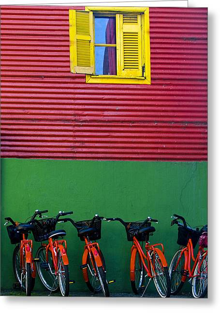 Kobby Dagan Greeting Cards - La Boca Greeting Card by Kobby Dagan