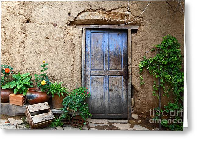 La Casa Vieja 1 Greeting Card by James Brunker