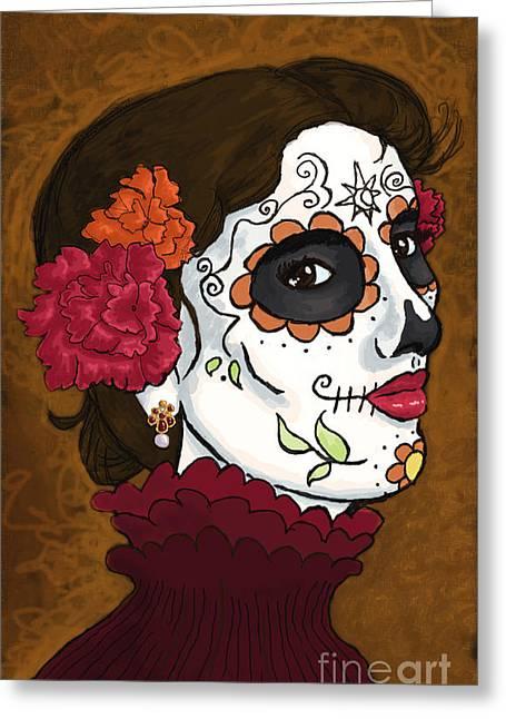 De La Soul Greeting Cards - La Caterina Greeting Card by Whitney Morton