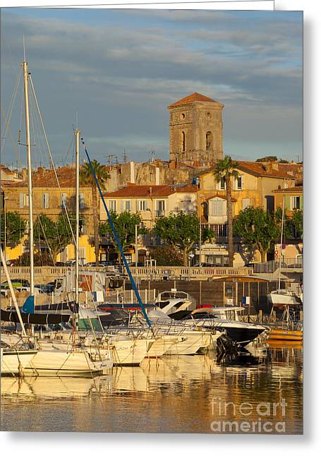 Azur Greeting Cards - La Ciotat Greeting Card by Brian Jannsen