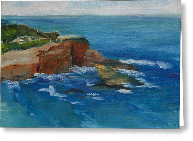 Recently Sold -  - Jeremy Greeting Cards - La Jolla Cove 023 Greeting Card by Jeremy McKay