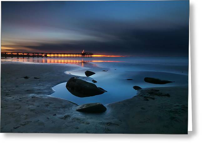 La Jolla Sunset 7 Greeting Card by Larry Marshall