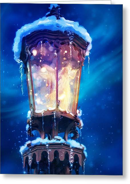 Imagination Greeting Cards - La Lumiere Greeting Card by Aimee Stewart