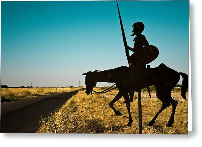 Castile La Mancha Greeting Cards - La Mancha Greeting Card by Alicia Garcia Monedero
