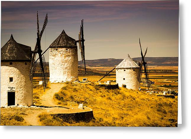 Castile La Mancha Greeting Cards - La Mancha Greeting Card by Francesco Riccardo  Iacomino