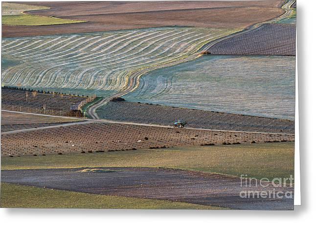 Mancha Greeting Cards - La Mancha Landscape - Spain Series-ocho Greeting Card by Heiko Koehrer-Wagner