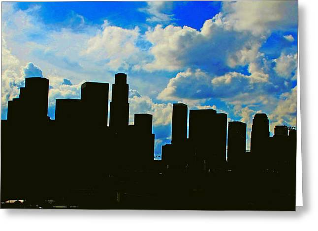 Midday.light Greeting Cards - LA Modern 1 Greeting Card by Russell Jenkins