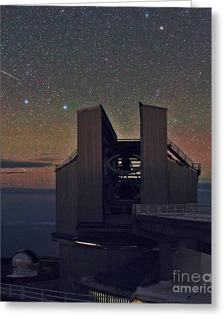 Tng Greeting Cards - La Palma Observatory Greeting Card by Babak Tafreshi