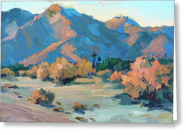 Light And Shadow Greeting Cards - La Quinta Cove - Highway 52 Greeting Card by Diane McClary