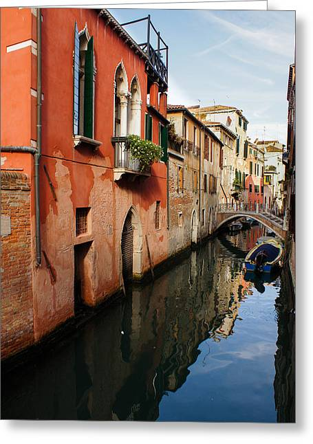 Most Greeting Cards - La Serenissima - the Most Serene - Venice Italy Greeting Card by Georgia Mizuleva
