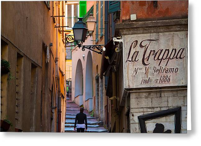 La Trappa Greeting Card by Inge Johnsson
