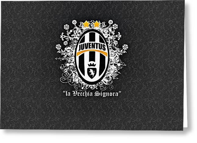 Signora Greeting Cards - La Vecchia Signora Greeting Card by Florian Rodarte