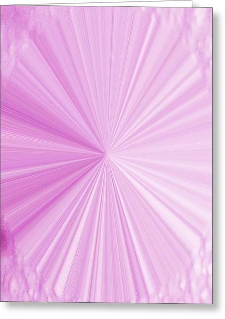 Language Use Greeting Cards - La Vie En Rose 01  3.23.14 Greeting Card by Rozita Fogelman
