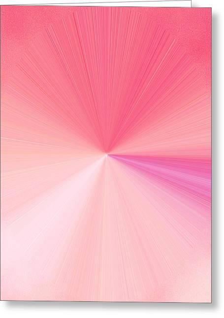 Language Use Greeting Cards - La Vie En Rose 02  3.23.14 Greeting Card by Rozita Fogelman