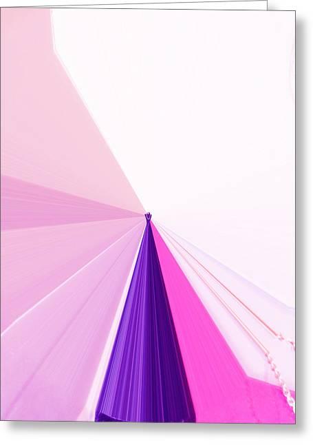 Language Use Greeting Cards - La Vie En Rose 05  3.23.14 Greeting Card by Rozita Fogelman