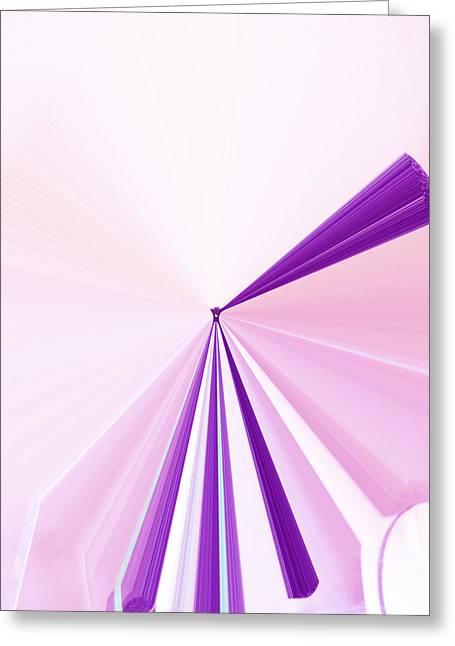 Language Use Greeting Cards - La Vie En Rose 06  3.23.14 Greeting Card by Rozita Fogelman