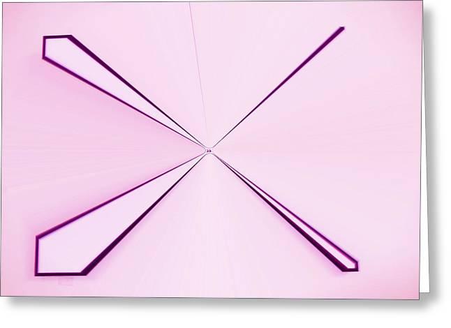 Language Use Greeting Cards - La Vie En Rose 09   3.23.14 Greeting Card by Rozita Fogelman