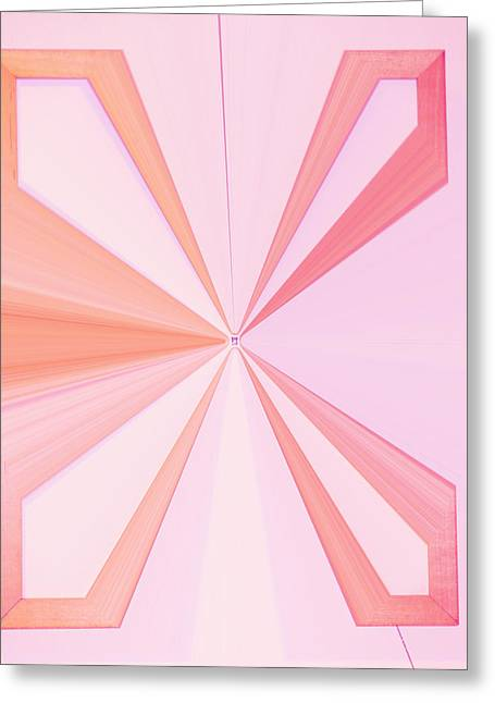 Language Use Greeting Cards - La Vie En Rose 11   3.23.14 Greeting Card by Rozita Fogelman