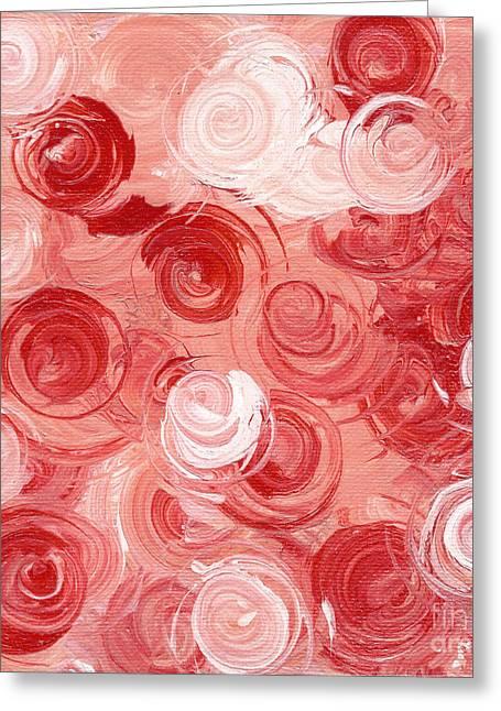 Edith Piaf Greeting Cards - La Vie En Rose Greeting Card by Alys Caviness-Gober