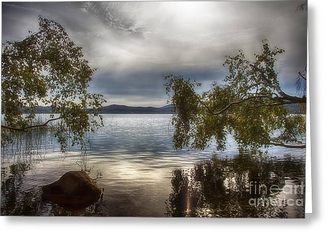Deutschland Greeting Cards - Laacher See Greeting Card by Fabian Roessler