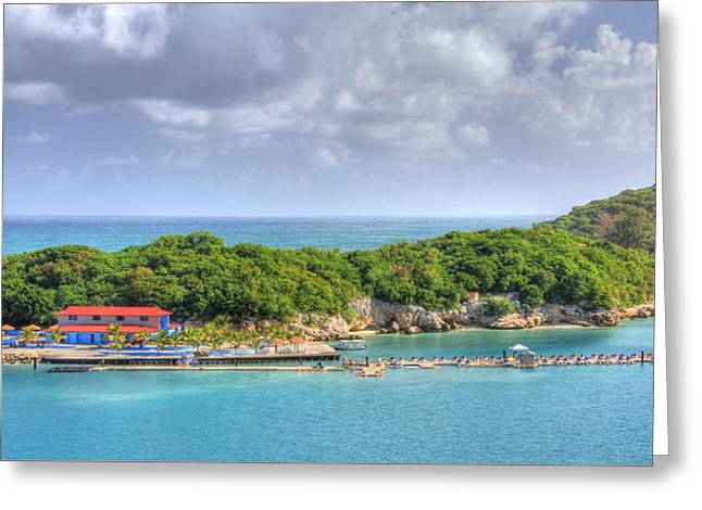 Royal Caribbean Greeting Cards - Labadee Greeting Card by Shelley Neff