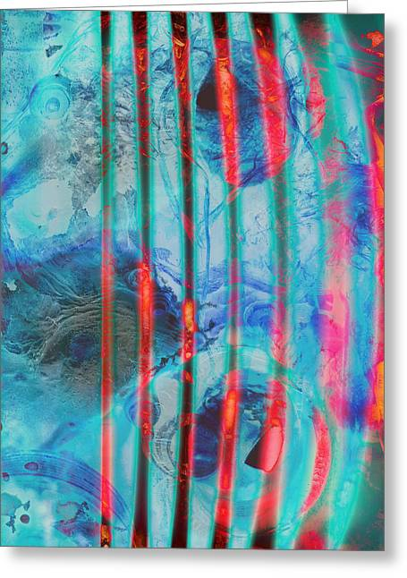 Mix Medium Photographs Greeting Cards - Lacerations Have Wounded  Greeting Card by Jerry Cordeiro