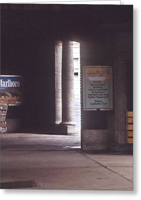 Historical Pictures Greeting Cards - Lackawanna Station Greeting Card by Kellice Swaggerty