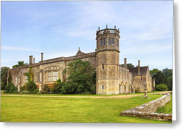 Harry Potter Greeting Cards - Lacock Abbey Greeting Card by Joana Kruse