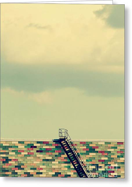 Stonewall Greeting Cards - Ladder to Nowhere  Greeting Card by Trish Mistric