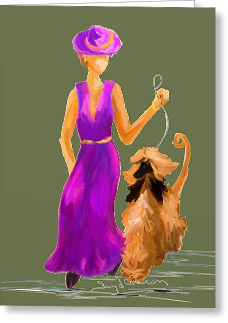 Terry Chacon Greeting Cards - Ladies Greeting Card by Terry  Chacon