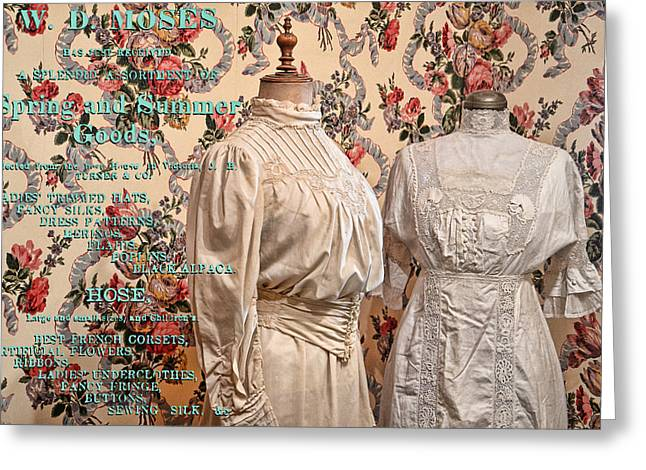 Barkerville Greeting Cards - Ladies Wear Greeting Card by Ed Hall