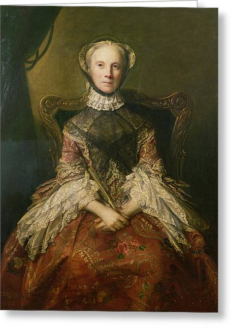 Wife Greeting Cards - Lady Dorothea Harrison, 1756 Oil On Canvas Greeting Card by Sir Joshua Reynolds