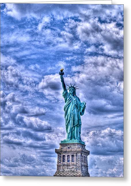 Patriotic Photography Greeting Cards - Lady L Greeting Card by Paul Wear