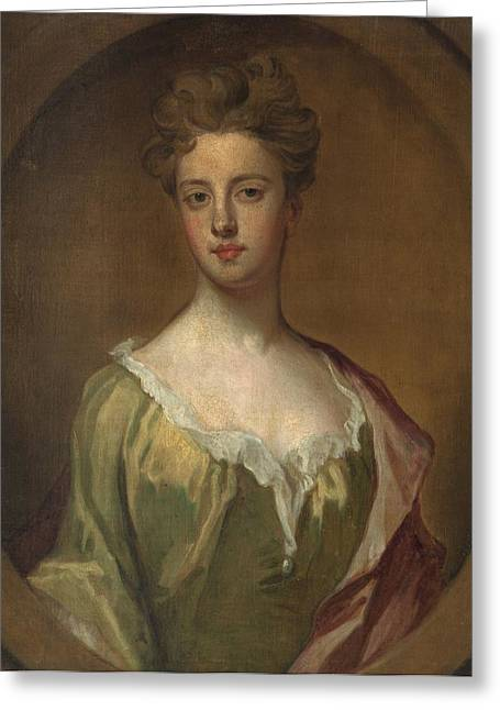 British Portraits Greeting Cards - Lady Mary Berkeley Greeting Card by Godfrey Kneller