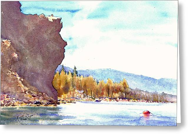 Www Greeting Cards Greeting Cards - Lady of the Lake South Lake Tahoe Greeting Card by Keith W Thompson
