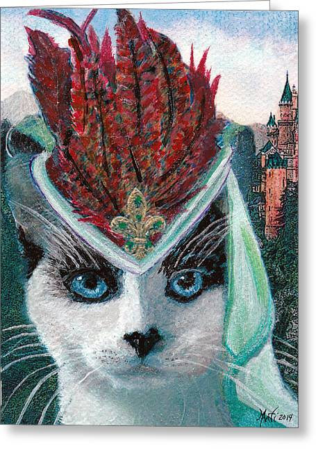 Humorous Greeting Cards Greeting Cards - Lady Snowshoe Greeting Card by Michele  Avanti