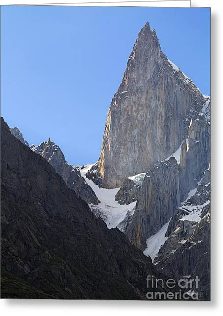 Ladyfinger Greeting Cards - Ladys Finger Peak  Greeting Card by Robert Preston