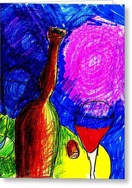 Earthtone Colored Art Greeting Cards - Ladys Leg Greeting Card by Bill Solley